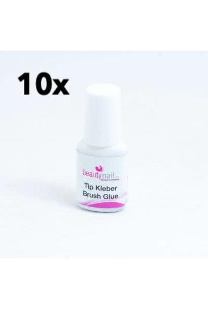 10 stk. Tip Kleber mit Pinsel 7,5ml