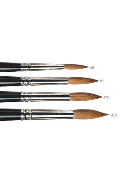 Acryl penseel | Kolinsky-Rotmarderhaar | Beschikbaar in 4 vers. grootte