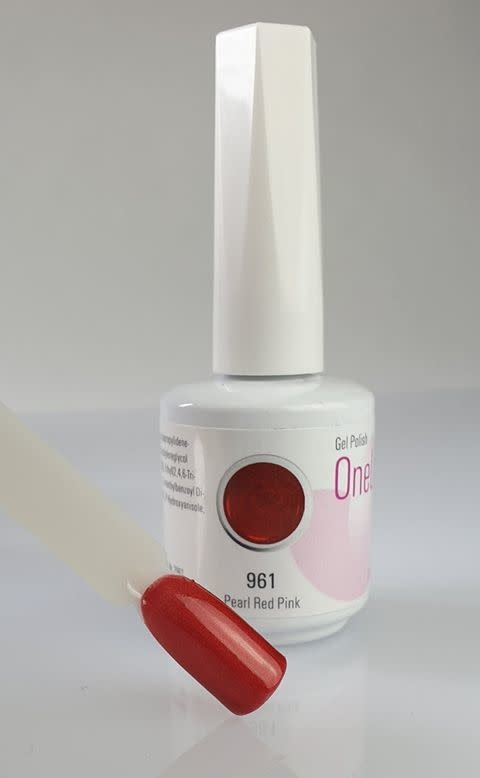 961 | One Lack 12ml -  Pearl Red Pink-1