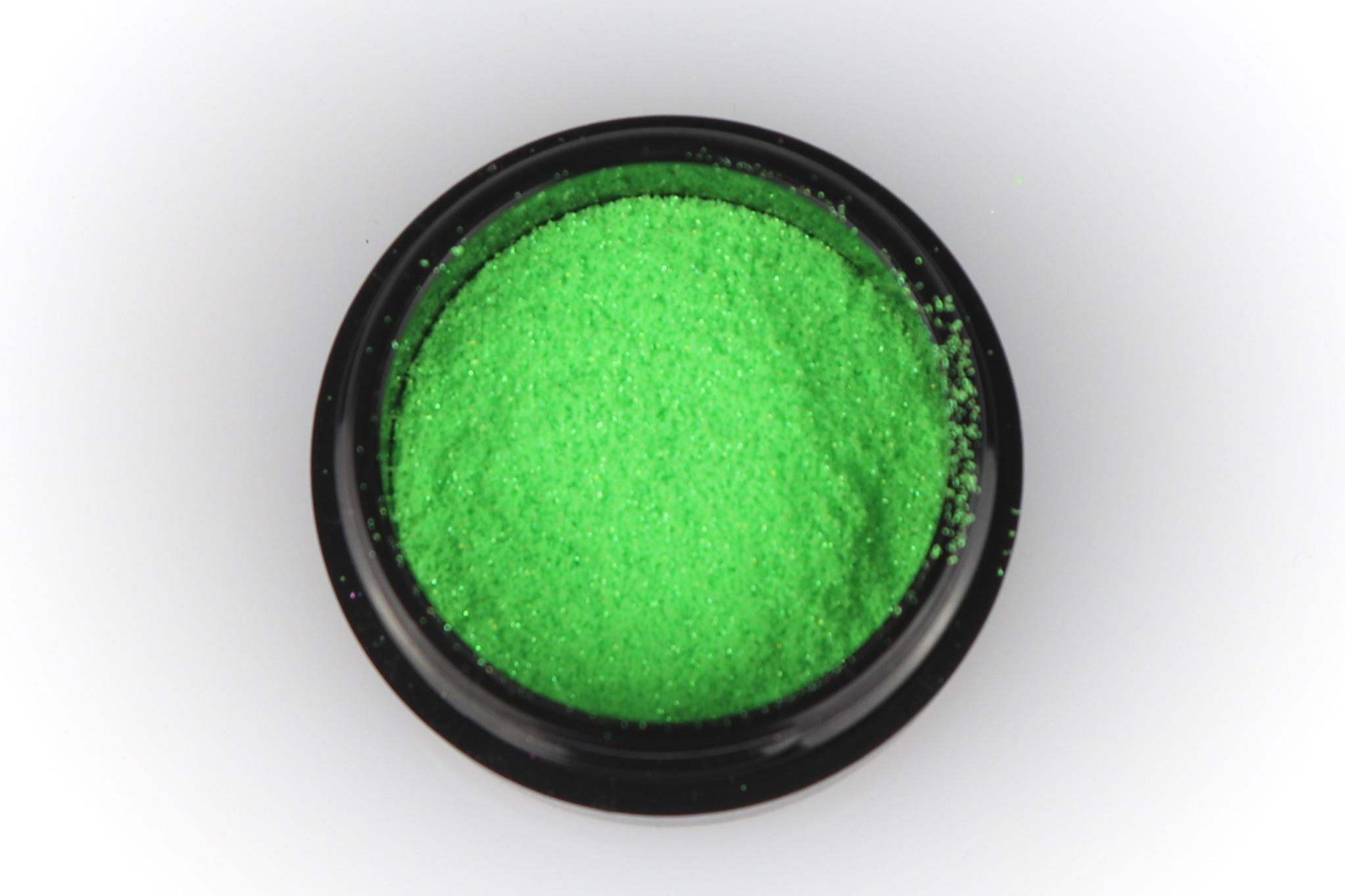 59   Micro Glitter - Neon Green-1