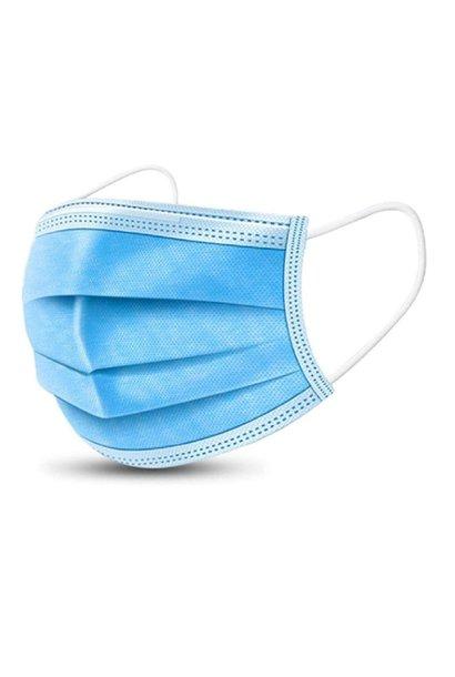 Chirurgische mondkapjes (1, 6, 10 of 50 stuks)