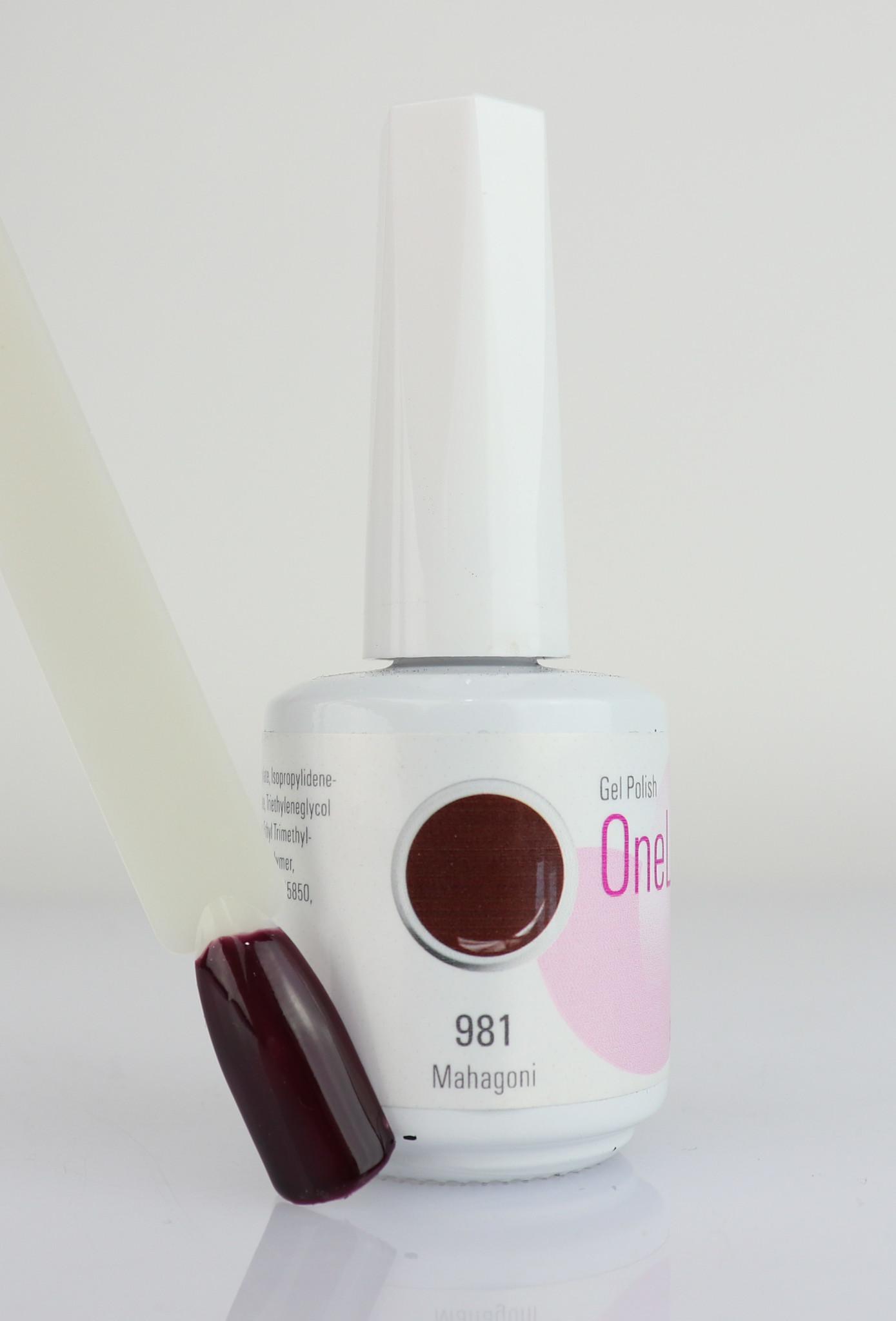 981 | One Lack 12ml - Mahagoni-1