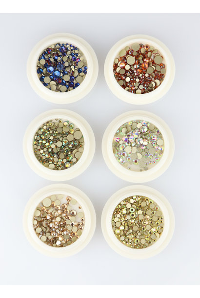 Strass Mix 01 - 6 stk.