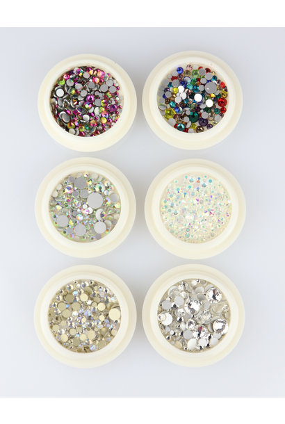 Strass Mix 04 - 6 st.
