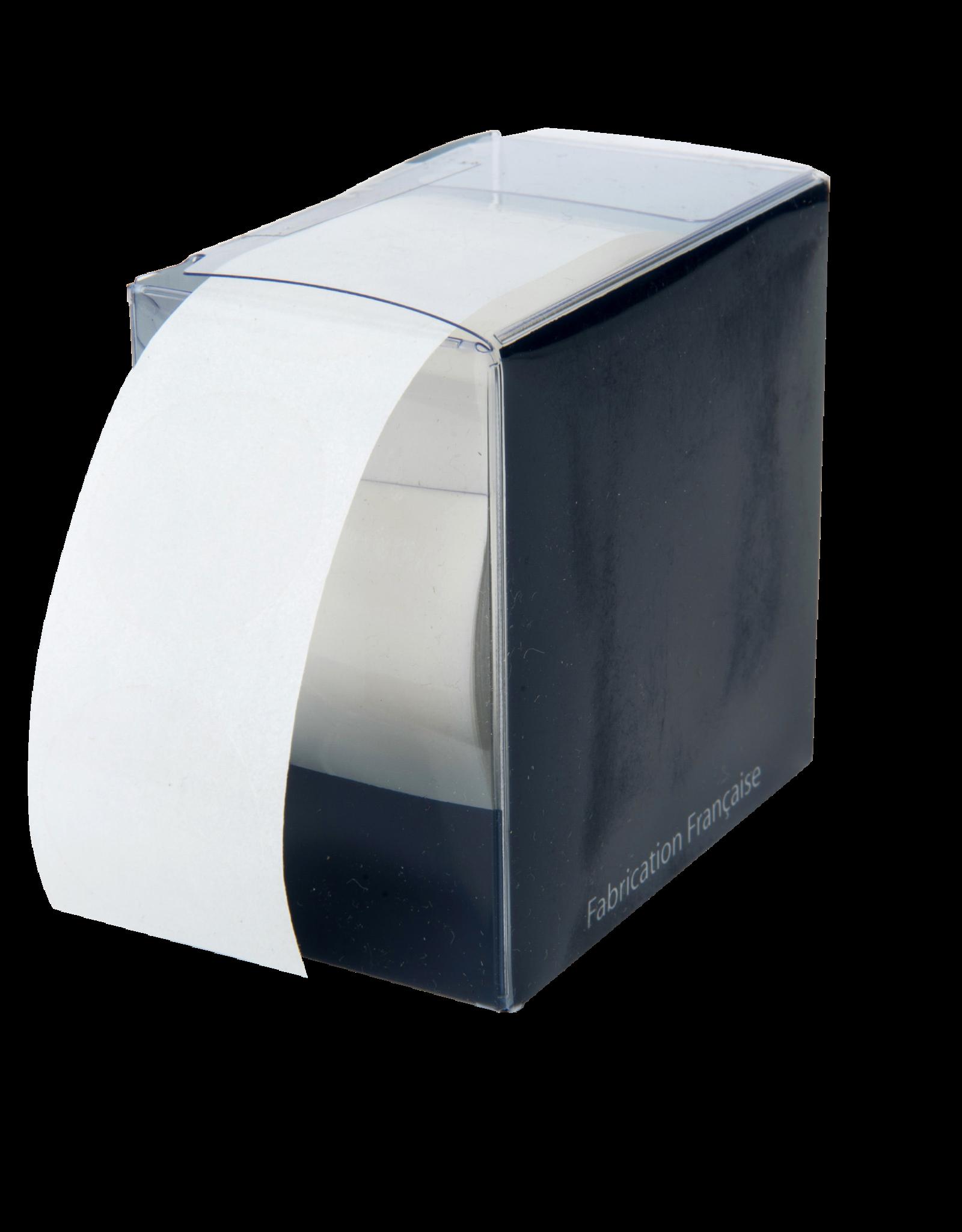 Etiquettes transparentes - diam. 2.7cm