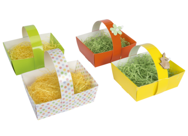 Baskets and cups
