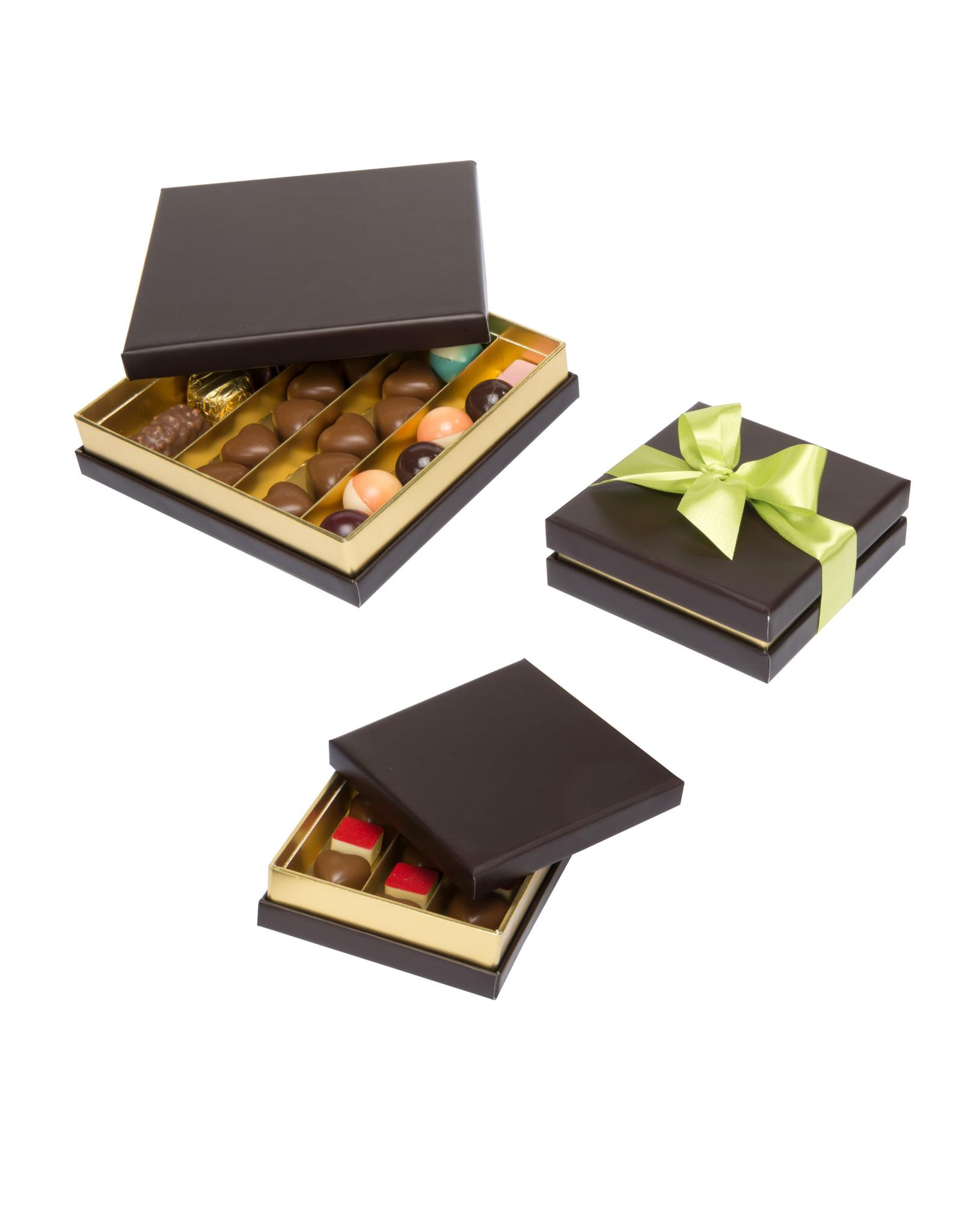 Boîte de luxe 9.5x9.5x3cm