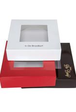 Boîte pâtisserie carré 26x26x5cm