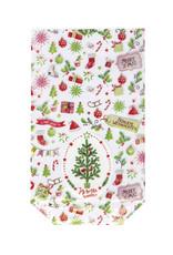 Cross bottom bag A - Christmas