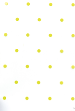 PP foil - Dots green