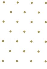 PP foil - Golden dots