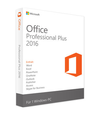 Microsoft Microsoft Office 2016 Professional Plus