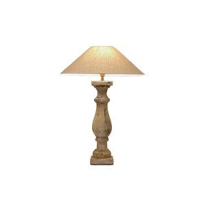 Tafellamp Frezoli Dicora oud wit L.110.1.000