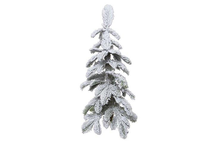 Alpine tree snowy