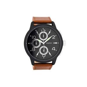OOZOO horloge steel bruin C7877