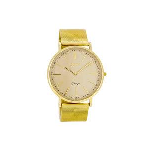OOZOO horloge vintage goud