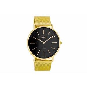 OOZOO horloge vintage goud zwart C8164