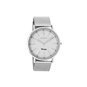 OOZOO horloge vintage zilver