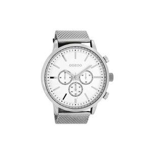 OOZOO horloge metaal zilver C8260