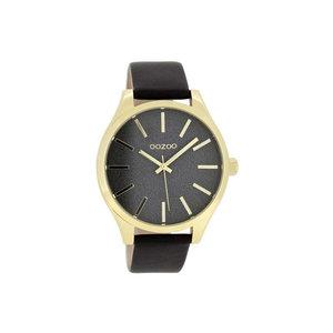 OOZOO horloge zwart/goud