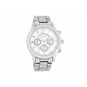OOZOO horloge metaal zilver