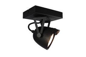 Label 51 Label51 plafonniere cap 1 lichts zwart