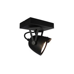 Label51 plafonniere cap 1 lichts zwart