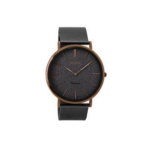OOZOO Horloge elephantgrey en bruin