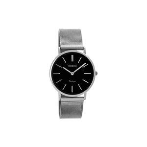 OOZOO Horloge zilver en zwart