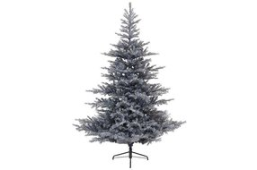 Grandis fir frosted hinged tree metal 240cm