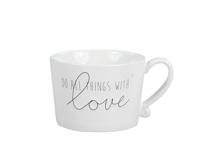 Bastion Collections Bastion Collections Mug Do All Things With Love