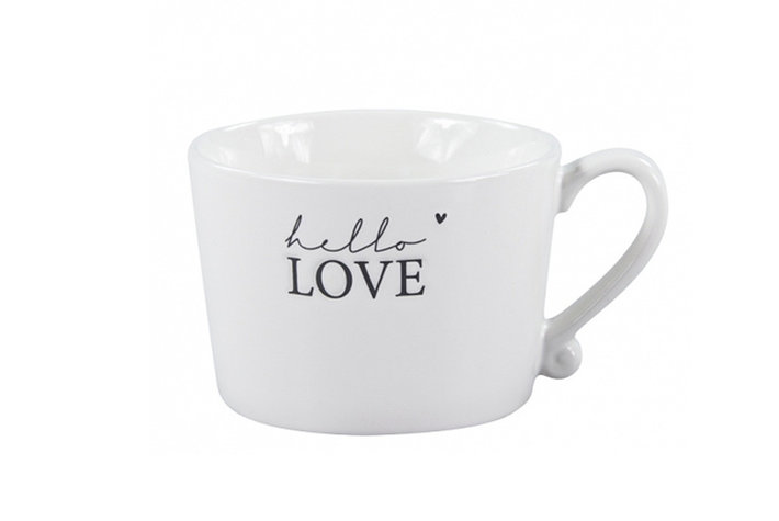 Bastion Collections Bastion collections mug hello love