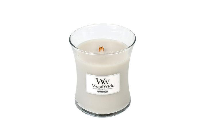 Woodwick WoodWick Medium Candle Warm Wool