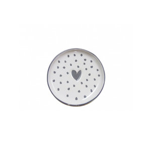 Bastion collection tea tip white love in grey