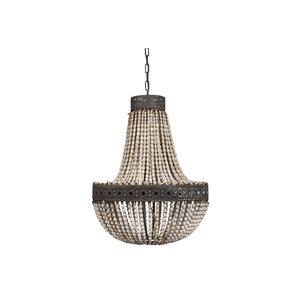 PTMD Beading white hanging lamp