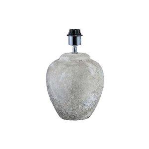PTMD blan white creamic lamp base round S