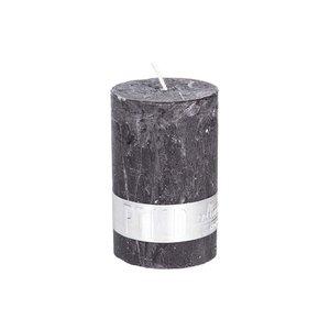 PTMD kaars charcoal black 8x5cm