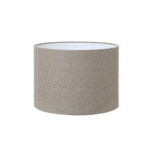 Light & Living  Kap cilinder 25-25-25 donker linnen