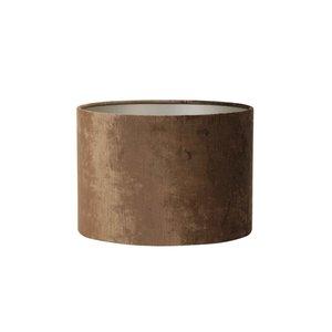 Kap cilinder gemstone  21- 30-30  bruin