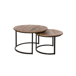 Set van 2 coffeetable mango