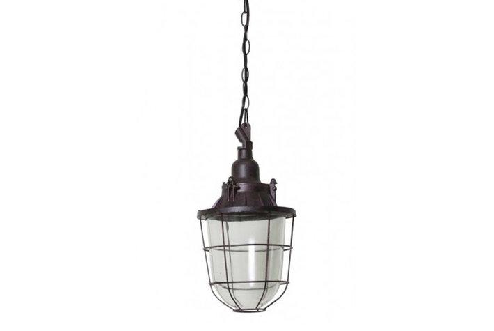 Light en Living Light & Living Landelijke hanglamp onbewerkt metaal