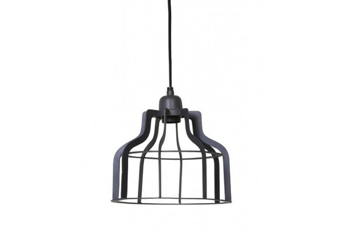 Light en Living Light & Living Hanglamp adine draad industrieel grijs