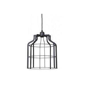 Hanglamp adine draad industrieel grijs