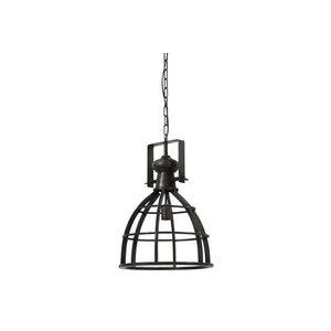Light & Living Hanglamp amy antiek zwart