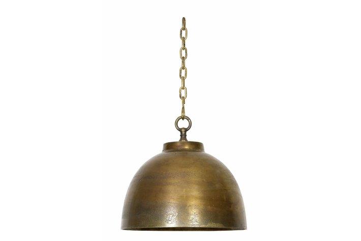 Light en Living Light & Living Hanglamp kylie antiek brons