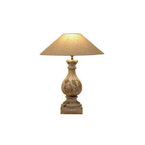 Tafellamp Frezoli Isola oud wit L.113.1.000