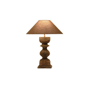 Frezoli tafellamp Resana Grijs/zwart L.129.1.000