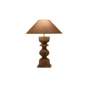 Tafellamp frezoli resana grijs groen L.129.1.000