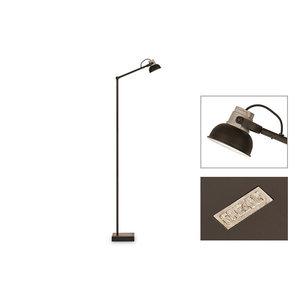 Frezoli vloerlamp Mazz Mat zwart L.843.1.600