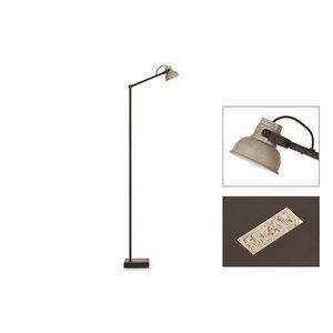Vloerlamp Frezoli mazz grijs L.843.1.800